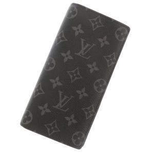 ルイヴィトン 長財布 モノグラム・エクリプス ポルトフォイユ・ブラザ M61697 LOUIS VUITTON ヴィトン メンズ 財布