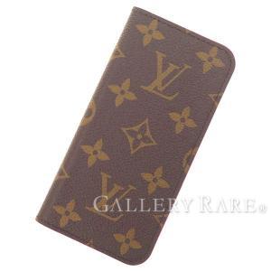 ルイヴィトン アイフォンケース モノグラム IPHONE7・フォリオ アイフォン7 M61906 LOUIS VUITTON ヴィトン 携帯ケース iPhone 7 gallery-rare