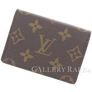ルイヴィトン カードケース モノグラム アンヴェロップ・カルト ドゥ ヴィジット M63801 LOUIS VUITTON ヴィトン 名刺入れ|gallery-rare
