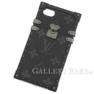 ルイヴィトン アイフォンケース モノグラム・エクリプス アイ・トランク IPHONE7 M64489 LOUIS VUITTON ヴィトン スマホケース iPhone 7 EYE-TRUNK|gallery-rare