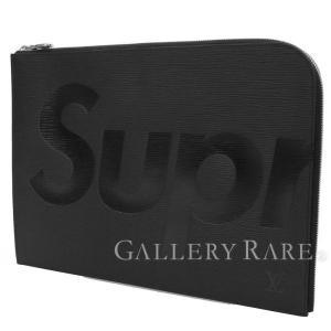 ルイヴィトン クラッチ シュプリームコラボ エピ ポシェットジュール GM M67754 セカンドバッグ メンズ Supreme 限定|gallery-rare