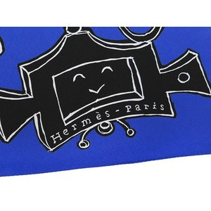 エルメス スカーフ マキシツイリー Serio Ludere セリオ・ルデーレ 銀座店限定 HERMES シルクスカーフ 限定|gallery-rare|04