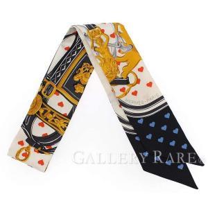エルメス スカーフ ツイリー シルクツイル ブリッド・ドゥ・ガラ・ラヴ Brides de Gala love HERMES シルクスカーフ ハート|gallery-rare