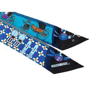 エルメス スカーフ ツイリー シルクツイル Les Voitures Nouvelles 馬車の変遷 HERMESシルクスカーフ|gallery-rare|02
