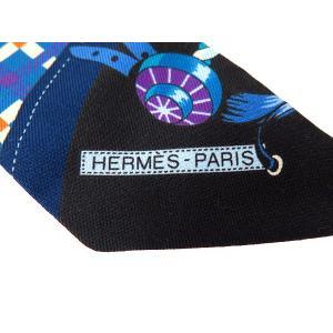 エルメス スカーフ ツイリー シルクツイル Les Voitures Nouvelles 馬車の変遷 HERMESシルクスカーフ|gallery-rare|04