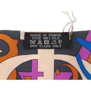エルメス スカーフ ツイリー シルクツイル Le Nombre D Or 黄金数柄 HERMES シルクスカーフ|gallery-rare|04