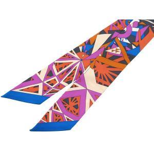 エルメス スカーフ ツイリー シルクツイル Le Nombre D Or 黄金数柄 HERMES シルクスカーフ|gallery-rare|05