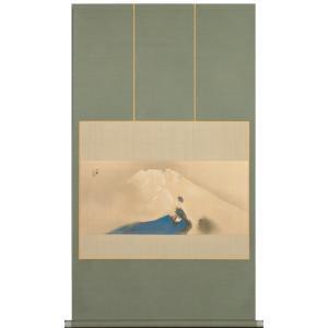 画材の質感と豊かな色調を再現するために生み出された画期的な技法による複製画です。  【竹内栖鳳】  ...