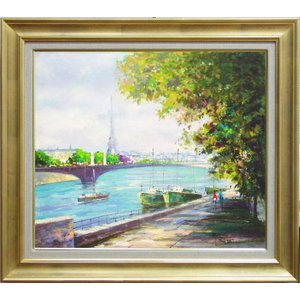 セーヌ川とその河岸はパリ観光の中心で、その一部は世界遺産に登録されています。  在庫限り。 同じ構図...