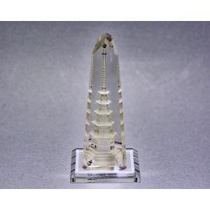 水晶の五重塔|gallery2100