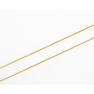 18K Gold ベネチアンチェーン レディース40cm|gallery2100
