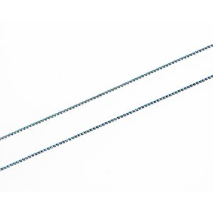 18Kホワイトゴールド ベネチアンチェーン レディース40cm CH6|gallery2100