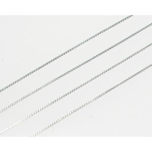プラチナ ベネチアンチェーン レディース40 + 5cm CH7|gallery2100|02