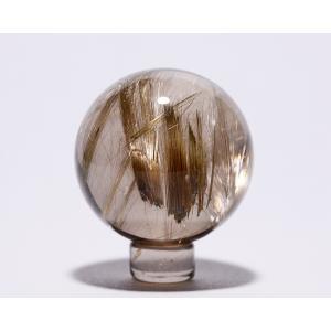ルチル入り水晶丸玉39ミリ|gallery2100