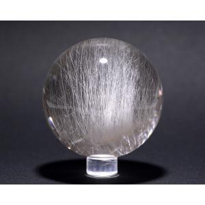 ルチル入り水晶丸玉54ミリ|gallery2100