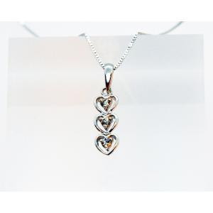 ダイアモンド ネックレス (Diamond Necklace )DP27  0.11cts K18WGチェーン付属|gallery2100