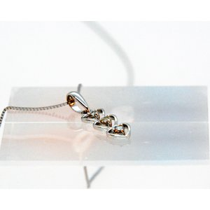 ダイアモンド ネックレス (Diamond Necklace )DP27  0.11cts K18WGチェーン付属|gallery2100|02