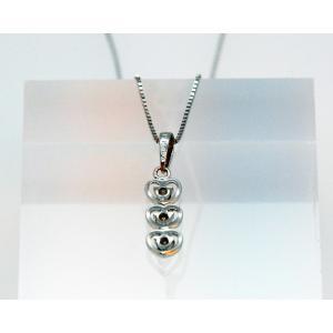 ダイアモンド ネックレス (Diamond Necklace )DP27  0.11cts K18WGチェーン付属|gallery2100|06