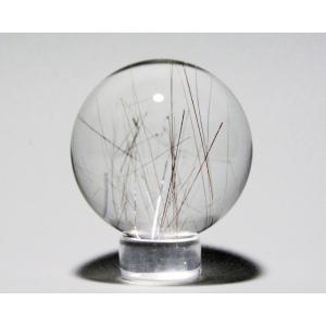 ルチル入り水晶丸玉31mm|gallery2100