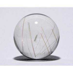 ルチル入り水晶丸玉25mm|gallery2100