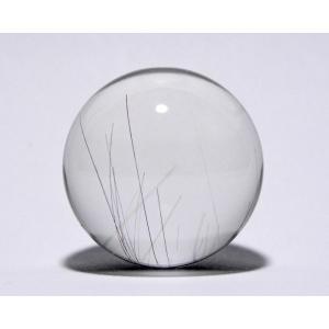 ルチル入り水晶丸玉32mm|gallery2100