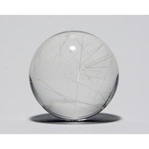 ルチル入り水晶丸玉26mm|gallery2100