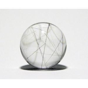 ルチル入り水晶丸玉21mm|gallery2100