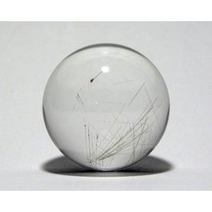 ルチル入り水晶丸玉30mm|gallery2100