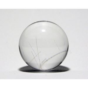 ルチル入り水晶丸玉28mm|gallery2100