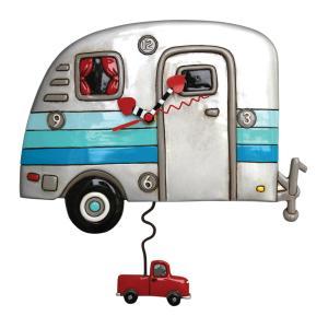 アレンデザイン 掛け時計 Happy Campers Allen Clock 振り子時計 キャンピングカー 車 アメリカ  USA|gallerycuore