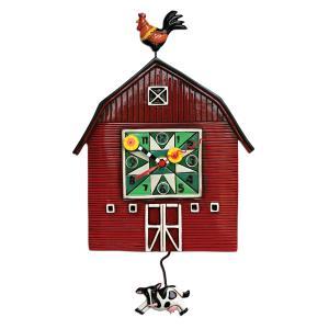 アレンデザイン 掛け時計 Barn Yard Allen Clock 振り子時計 納谷 庭 アメリカ  USA|gallerycuore