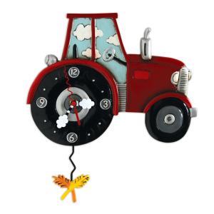 アレンデザイン 掛け時計 Tractor Time Allen Clock 振り子時計 トラクター ホップ アメリカ  USA|gallerycuore