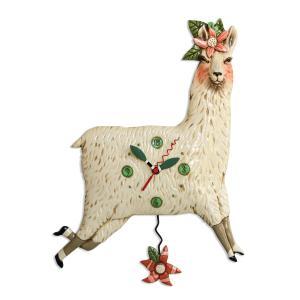アレンデザイン 掛け時計 Llama Love Allen Clock 振り子時計 リャマ ラマ アメリカ  USA|gallerycuore