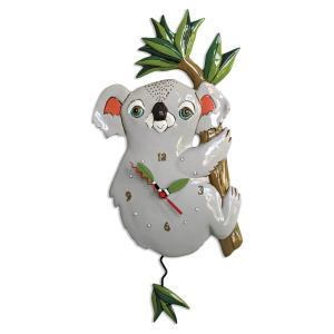 アレンデザイン 掛け時計 Koolah Koala Allen Clock 振り子時計 コアラ ユーカリ アメリカ  USA|gallerycuore