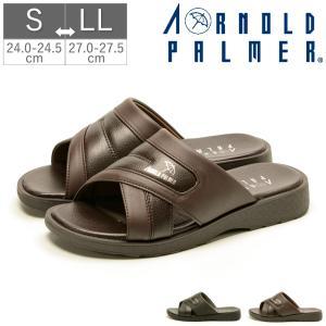 アーノルドパーマー ArnoldPalmer メンズ サンダル スリッパ つっかけ ヘップ 紳士 幅広 軽量 AP2055|gallerymc