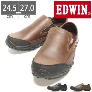 エドウィン EDWIN メンズ スリッポン スニーカー カジュアル ウォーキング シューズ 靴 紳士 紳士靴 EDM 6190|gallerymc