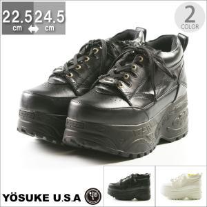 カジュアル YOSUKE ヨースケ スニーカー 歩きやすい 22.5 23 23.5 24 24.5 フットプレイス ギャラリー|gallerymc