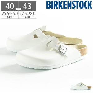 ビルケンシュトック BIRKENSTOCK ボストン メンズ ボストン サボ シューズ ホワイト|gallerymc