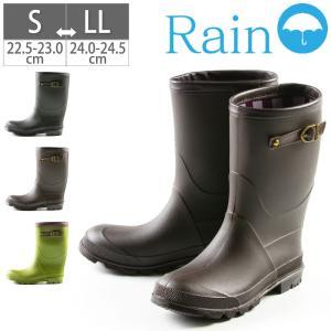 レインブーツ レインシューズ 雨靴 女子 ブーツ おしゃれ 22.5 23 23.5 24 24.5 25|gallerymc