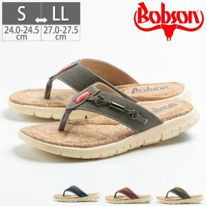 ボブソン BOBSON メンズ トングサンダル コルクサンダル 紳士靴 24 24.5 25 25.5 26 26.5 27 27.5 51130|gallerymc