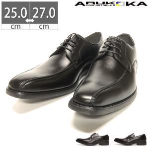 メンズ ビジネスシューズ 夏用 蒸れない 蒸れにくい ムレ防止 通気性 メンズ 靴 ARUKOKA アルコーカ|gallerymc