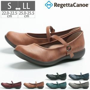 リゲッタ シューズ 靴 レディース R-2361 フラットシューズ ぺたんこ コンフォートシューズ 歩きやすい 疲れない シンプル 日本製 幅広 3E|gallerymc
