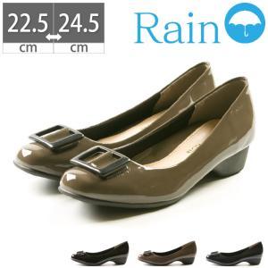 【10%OFFクーポン対象商品】パンプス 雨靴 レインシューズ RECONTI 22.5 23 23.5 24 24.5|gallerymc