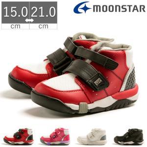 【商品情報】 子どもの足と歩きを考慮した「ムーンスター」ブランドの高機能キッズシューズです。 ホール...