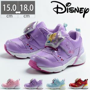 ムーンスター キッズ DN C1244 ディズニー 子供 光る靴 アリエル アリス アナ雪 カーズ スニーカー シューズ 靴 ピンク 水色 紫 赤|gallerymc