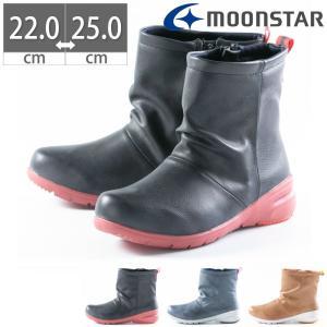 レインシューズ レインブーツ ショートブーツ ムーンスター レディース MS RPL003 晴雨兼用 ブーツ 防水 軽量 雨靴 Moon Star|gallerymc