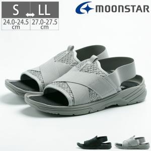 ムーンスター Moon Star サプリスト SPLT MS192 メンズ サンダル シューズ 靴 抗菌防臭 バックストラップ|gallerymc