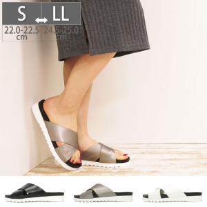 サンダル ペタンコ ローヒール ふかふかインソール 走れるパンプス 痛くない 歩きやすい 日本製 靴|gallerymc