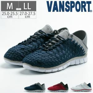 ヴァンスポーツ VANSPPORTS メンズ 紳士 カジュアル スニーカー シューズ 靴 スリッポン スリッパスニーカー|gallerymc