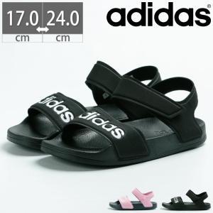 アディダス adidas アディレッタサンダルK ADILETTE SANDAL K キッズ ジュニア レディース サンダル ベルクロ 歩きやすい ジム G26876 G26878 G26879|gallerymc